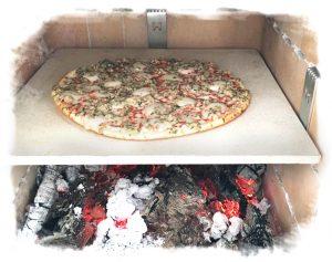 HAIM-Pizzastein im Feuerraum